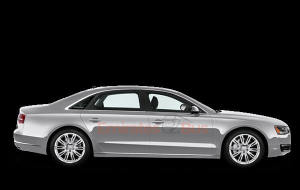 Audi A8 With Driver In Dubai.