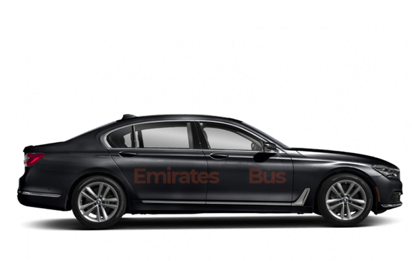 BMW 7 Series With Driver In Dubai.
