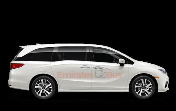 Honda Odyssey With Driver In Dubai.