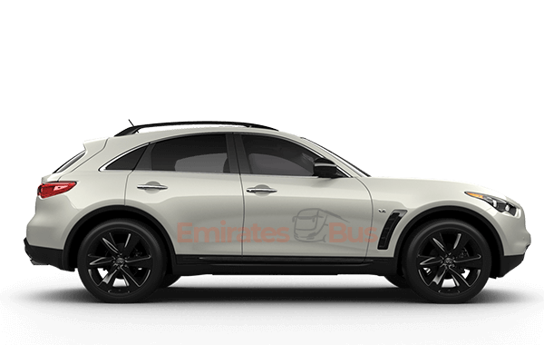 Infinity QX 70 With Driver In Dubai.
