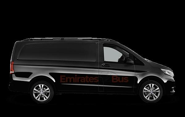 Mercedes Vito With Driver In Dubai
