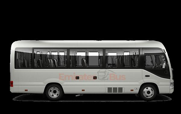 Toyota Coaster Coach With Driver In Dubai