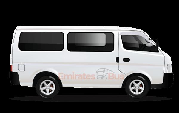 Toyota Hiace With Driver In Dubai