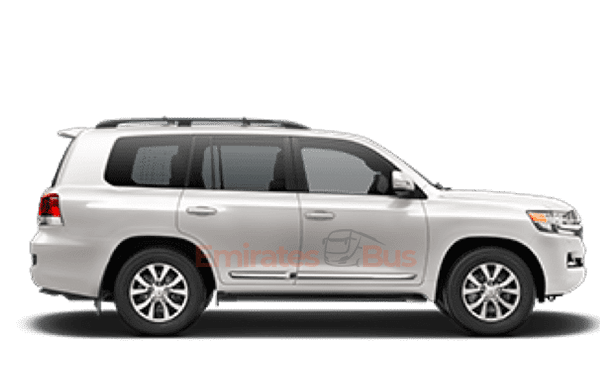 Toyota Land Cruiser With Driver In Dubai